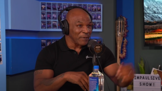 Mike Tyson Calmly Explains To Logan Paul How Floyd Mayweather Is Going To Beat Him To A Bloody Pulp
