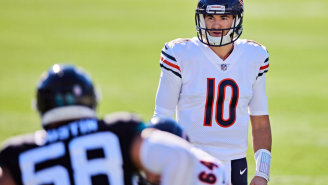 Mitch Trubisky Gets Mocked For Saying He Has 'Unfinished Business' When Asked About Returning To Bears