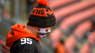 The NFL's Absolutely F'ing Up This Browns-Steelers Playoff Game