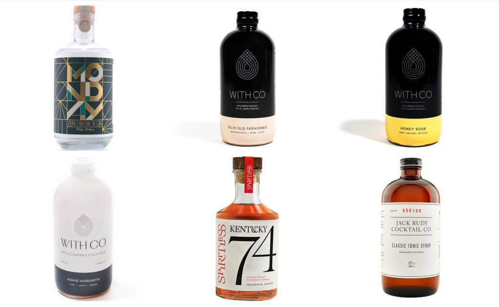 no alcohol cocktail mixers dry January