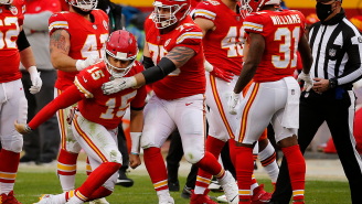 Travis Kelce Says Browns Players Celebrated When Patrick Mahomes Had Trouble Standing After Getting Hit