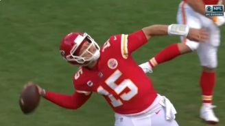 Fan Video Shows Patrick Mahomes Impressively Reaching Upper Deck With Throw After TD