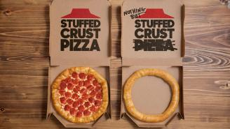 You Can Now Order Stuffed Crust At Pizza Hut That Features A Notable Lack Of The Whole 'Pizza' Thing