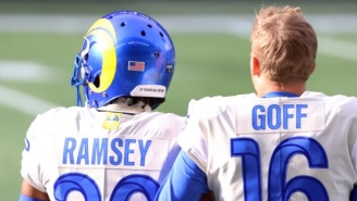 Jalen Ramsey Awkwardly Recruits Deshaun Watson To The Rams While Jared Goff Is Still The Team's QB