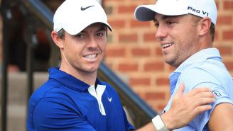 Rory McIlroy And Justin Thomas Given 50 Shots Each To Make A Hole-In-One And The Results Were Unbelievably Entertaining