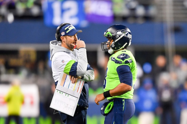 After firing Brian Schottenheimer as offensive coordinator, did the Seahawks just make things awkward with Russell Wilson?
