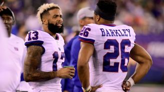 Saquon Barkley And Odell Beckham Jr. Rehabbing Together Should Have Giants Fans Worried