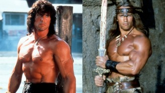Frank Stallone Remembers A Young Sly Furious At Arnold Schwarzenegger For Jacking His Persona