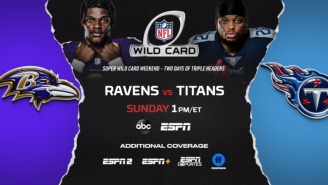 Stream Ravens vs. Titans 'Between The Lines' via ESPN+ On Wild Card Sunday
