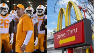 Tennessee Reportedly Gave Recruits McDonald's Bags Filled With Money During Visits