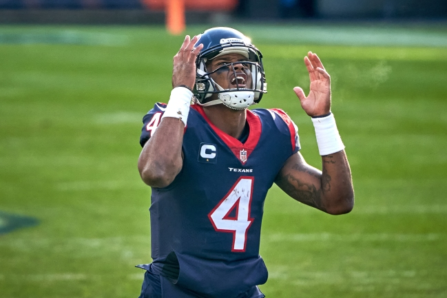 Former Texans stars Andre Johnson and Arian Foster slam franchise and encourage Deshaun Watson to force his way out