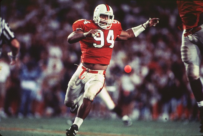 Former Miami Hurricanes great Warren Sapp says Dwayne 'The Rock' Johnson got a lot of his WWE catchphrases from Ed Orgeron