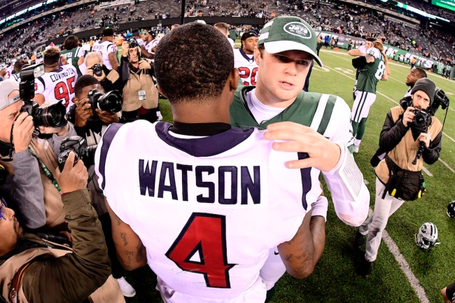 ESPN's Todd McShay says Jets trading for Deshaun Watson doesn't make sense 'cause it's only a 'slightly better' upgrade than Sam Darnold