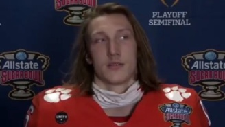 Things Get Awkward When Reporter Unwittingly Makes Fun Of Trevor Lawrence's Mustache While Unmuted During Clemson's Zoom Press Conference