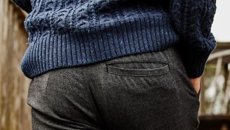 These Unique Seawool Sweater And Pants Are Sewn With Yarn Made From Upcycled Oyster Shells