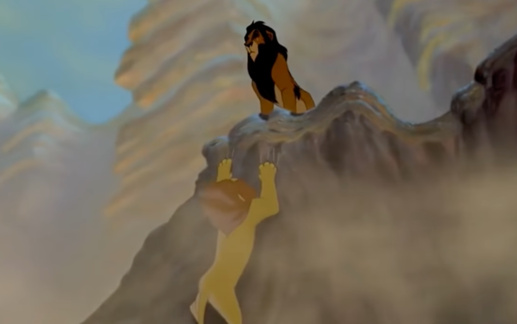 what happened to Mufasa's body in The Lion King