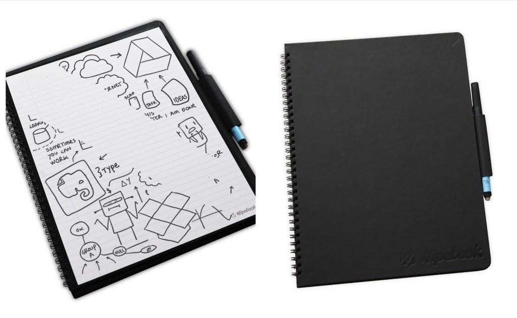 Wipebook Pro + wipeable notebook