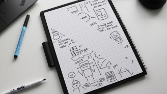 The Wipebook Pro+ Is Basically A Mini Whiteboard The Size Of A Notebook That Sends Productivity Through The Roof