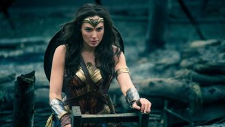 This New Photo Of Wonder Woman Holding Severed Heads In The Crimean War(!) Is Absolutely Gnarly