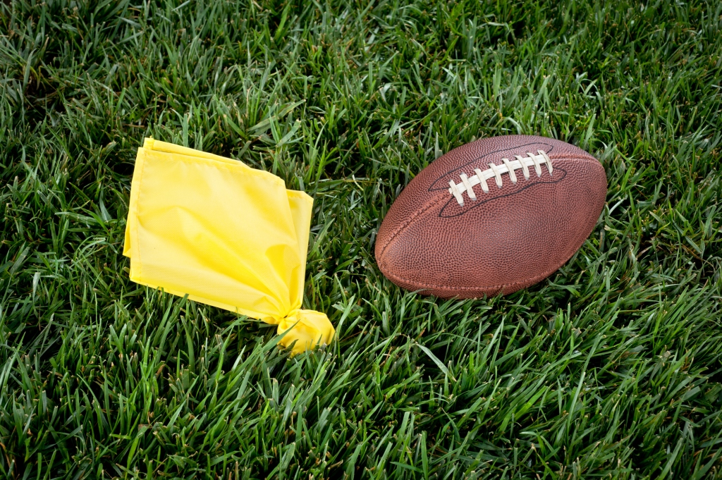 penalty flag football