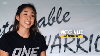 The Future Of Women's MMA? Watch 16-Year-Old Victoria Lee Tap Her Opponent At ONE Championship