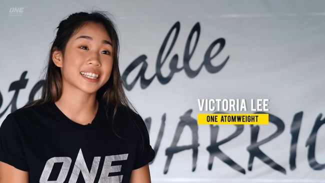 16-Year-Old Victoria Lee Tap Opponent ONE Championship Debut