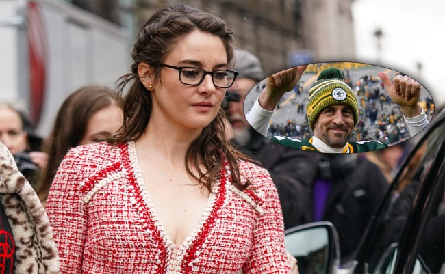 Aaron Rodgers And Shailene Woodley Reportedly Been Dating For Awhile