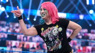 Watch The Stiff Kick That Knocked Out WWE Champion Asuka's Tooth