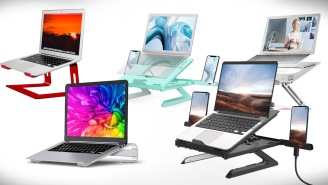12 Best Laptop Stands To Help You Be More Productive And Healthy