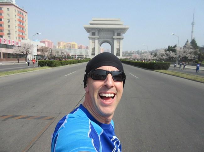 Brian Gross North Korea Marathon