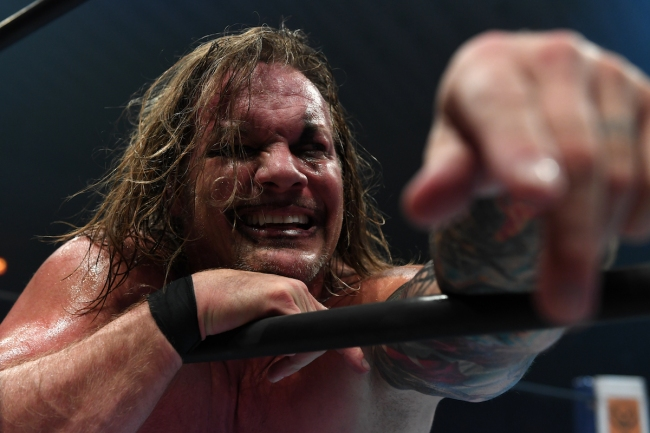 Chris Jericho Punched By Fan