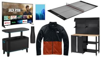 Daily Deals: Tablets, TVs, Cabinet Sets, The North Face Sale And More!