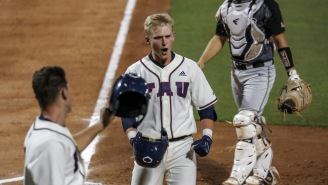 FAU's Caleb Pendleton Hit Two Grand Slams In The Same Inning In His First Two Collegiate At-Bats