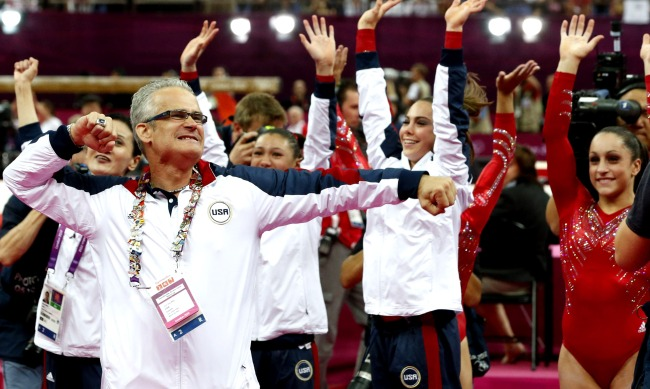 Ex-Olympic Gymnastics Coach Charged With Human Trafficking Assault