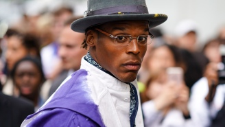 Cam Newton Announces He's Done Spending Millions On Clothes He's Only Worn Once