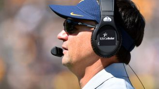 West Virginia Coach Neal Brown Is The Most Efficient Kid-Haver In College Football