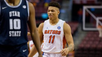 Florida Basketball's Keyontae Johnson Is Back In The Gym After Collapsing On The Court In December