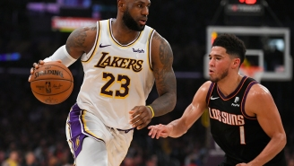 LeBron James Is Not Happy Devin Booker Failed To Make An All-Star Team