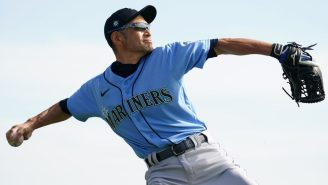 47-Year-Old Ichiro Suzuki Is Throwing Nasty Cheddar At Spring Training