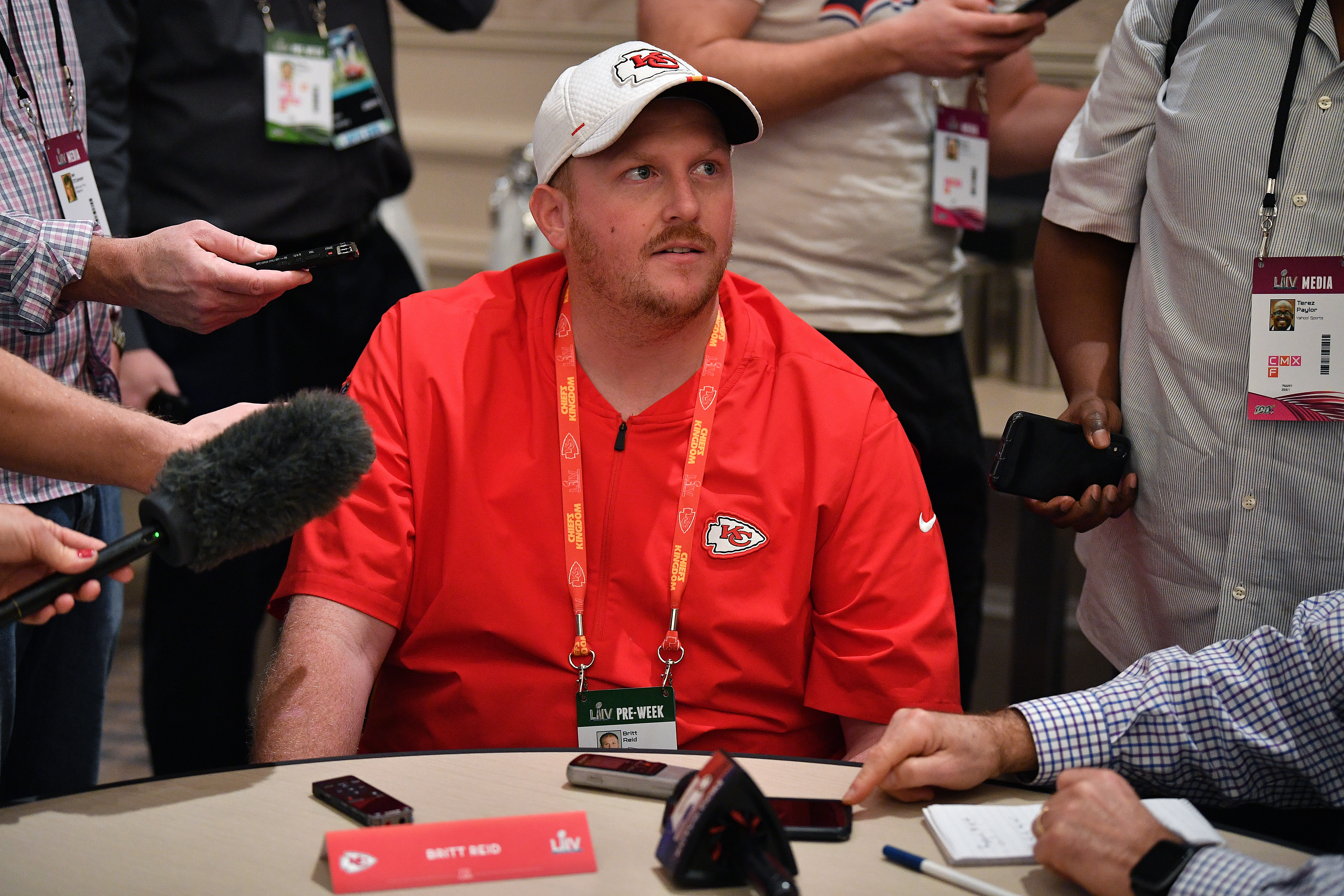 Chiefs' LB Coach Britt Reid, Son Of HC Andy Reid, Admitted To Drinking Alcohol Before Car Crash That Left Child With Life-Threatening Injuries