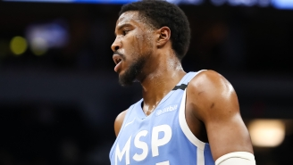 Malik Beasley's Wife Claims He Violated NBA Covid-19 Protocols By Hanging Out With Larsa Pippen In Hotel Room