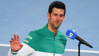 Things Got Awkward During Novak Djokovic's Australian Open Interview When He Was Asked About Having To Quarantine