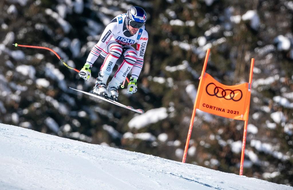 Maxence Muzaton world cup ski crash