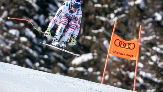 World Cup Skier Crashes At 70+ MPH And Somehow Recovers Without Serious Injuries