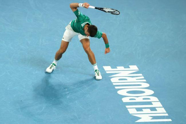 Novak Djokovic Racket Smash