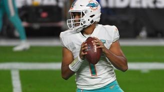 Things Get Awkward After Dolphins' Tua Tagovailoa Gets Asked About Being In The Middle Of Trade Rumors For Deshaun Watson During Interview