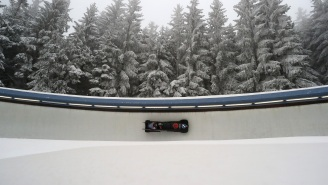 Dad Spends Six Years Building A 588-Foot Backyard Bobsled Track To Entertain His Kids For 12 Minutes
