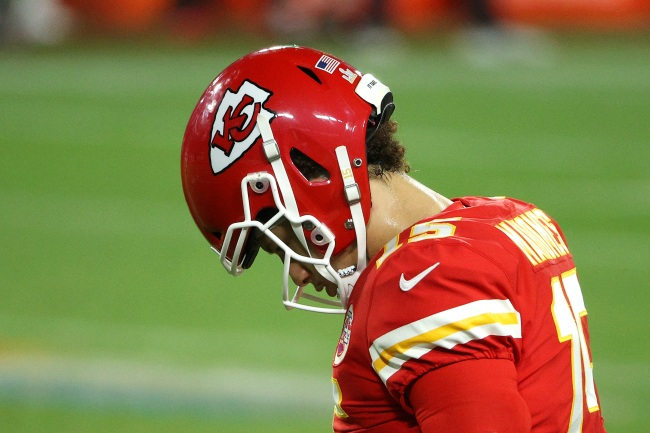 Patrick Mahomes' Mom And Fiancée Blast ESPN For Posting Super Bowl Images Of Patrick Mahomes Looking Sad