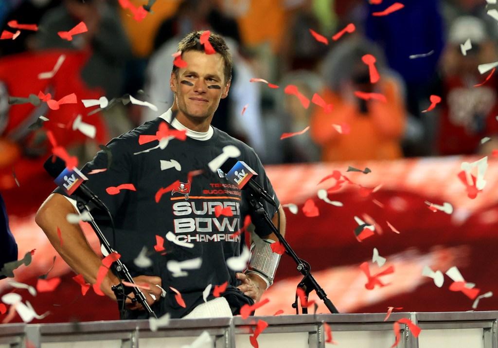 Tom Brady Super Bowl Tampa Bay Buccaneers