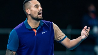 Nick Kyrgios Chooses Mid-Match To Tell Team Member He Doesn't Approve Of His Girlfriend